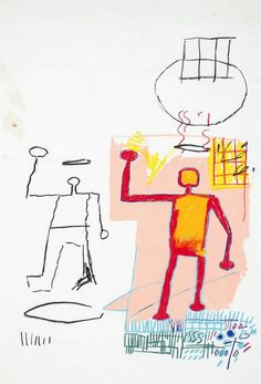 jean-michael basquiat- untitled, 1982