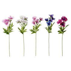 SMYCKA Artificial flower - IKEA $1.90