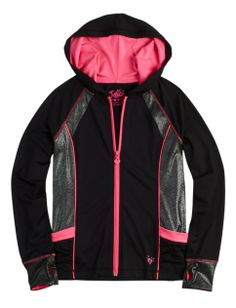 Glam Active Jacket | Girls Girl On The Go Active Outfits | Shop Justice
