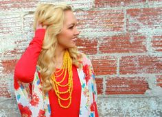 Kimonos are one of my favorite trends right now!!