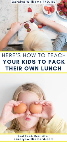 While I still prepare lunch a few days a week, both kids having the ability to make lunch — and a fairly healthy one — has been a huge help as a mom working from home. Learn the benefits of teaching your kids, the lunch formula to ensure the end result is a pretty healthy lunch, and how to teach your kids this formula1 Easy Meals For Kids, Kids Meals, Lunch Recipes, Real Food Recipes, Home Meals, Dietitian, Nutrition Tips, Nutritious Meals, Kids House