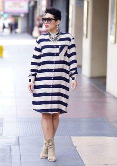 How To Wear Shirt Dress Casual Simple 50 Best Ideas Simply Fashion, Curvy Fashion, Modest Fashion, Diy Fashion, Plus Size Fashion, Fashion Looks, Fashion Outfits, Fashion Fall, Fashion Boutique