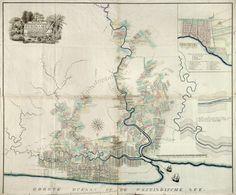 Plantages in Commewijne: Kaarten van plantages in Suriname. Klik kaart voor meer info.