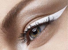 Comment utliser le #eyeliner blanc?