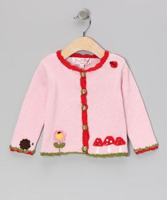 Take a look at this Pink Enchanted Forest Cardigan - Infant on zulily today!