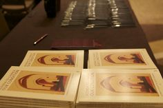"""Agenda To Change Our Condition"" books on sale at the 2013 ISNA convention."