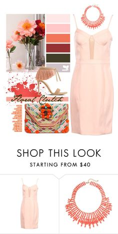 """""""Floral / Fringe."""" by s-elle ❤ liked on Polyvore featuring Alexander Wang, JustFab, Antik Batik, contest, contestentry and floralclutch"""