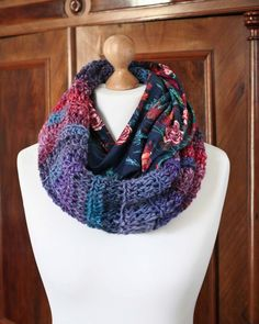 Crochet scarf sew handmade gift  mushroomservice.wordpress.com