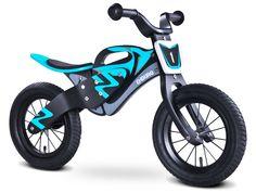 Enduro bleu draisienne bois de vélo sans pédales #efunkybabyfr #draisienne…
