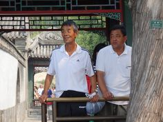 The life of every laowai in China. Everybody stares! It's like being famous!