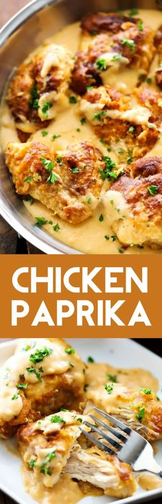 Chicken Paprika... An amazingly flavorful chicken that is coated in an incredible batter and has an unbelievably delicious gravy. This will be one meal you will want to eat again and again!