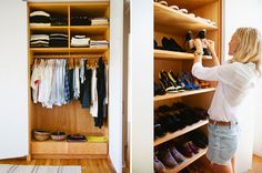 Photo by Miha Matei  GLAMOUR Chic Peek: Stylist Jessica de Ruiter Shows Us Her Midcentury-Modern Home, Her Epic Shoe Closet, and How to Rock a Button-Down