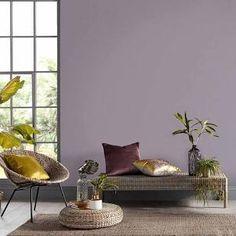 dulux paint colours for living room - Google Search Brown Wallpaper, Blush Pink Paint, Pink Paint Colors, Plain Wallpaper, Wallpaper, Duck Egg Colour, Purple Wallpaper, Blue Paint, Modern Decor
