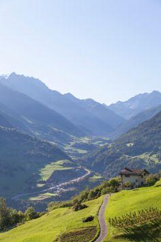 Sembrancher - Valais, Switzerland - Grand Saint Bernards Pass.