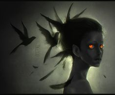 Blackbird by Mezamero.deviantart.com on @deviantART