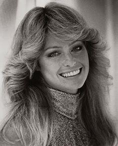 Farrah Fawcett(-Majors), 1976. We all wanted Farrah hair!!!