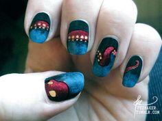 octopus nails!