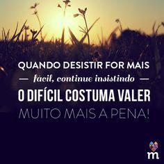 O esforço nós faz valorizar a conquista!! #fikaadica
