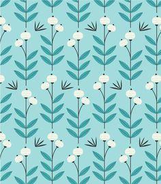 Blue Blooms Art Print