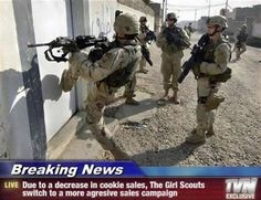 Girl Scouts Army