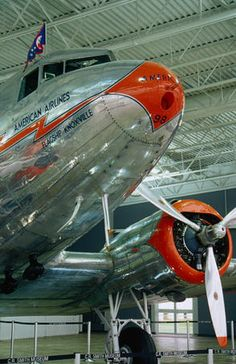 """The """"Flagship Knoxville"""" on display at the American Airlines C.R. Smith Museum."""
