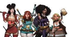 Spinning Yarn - Rat Queens - Sass and Sorcery