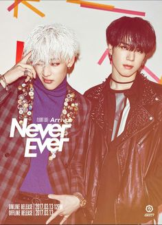 Got7 Never Ever yugyeom and Bam Bam