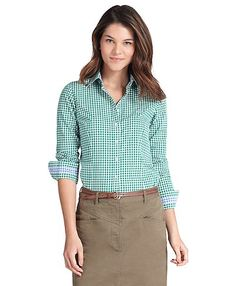 Tailored Gingham Shirt | Brooks Brothers