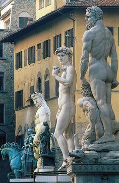 Michelangelo Buonarotti Florence, sculptures