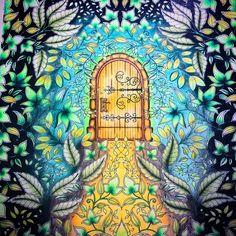 Kira Harrington  «#johannabasford #secretgardencoloringbook