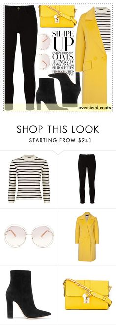"""""""Chic Oversized Coats"""" by alaria ❤ liked on Polyvore featuring Theory, Frame, Chloé, ESCADA, Gianvito Rossi, Dolce&Gabbana and oversizedcoats"""