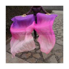 Pink/purple fan veil