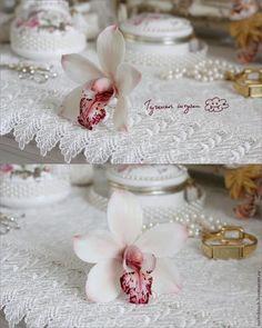 Лепка орхидеи цимбидиум из полимерной глины - Ярмарка Мастеров - ручная работа, handmade