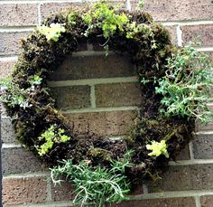 How To Make A Living Herbal Wreath