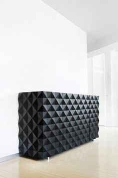 Modern Black Sideboard Designs For Your Home Furniture Sideboard Design, Black Sideboard, Modern Sideboard, Contemporary Bedroom, Contemporary Furniture, Contemporary Design, Contemporary Cottage, Contemporary Apartment, Contemporary Wallpaper