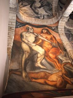 on going to Mexico : de ir a México: Sunday afternoon 31 May: San Ildefonso, muralism, Orozco