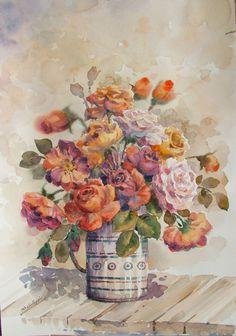 Reza Badrossama Gallery، Rose Flower (2)