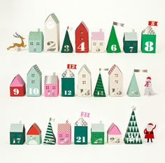 advent village | Design Life Kids