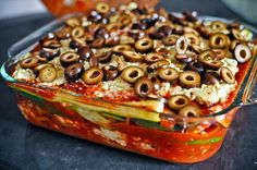 "Try this delicious recipe for hearty vegan lasagna with eggplant ""noodles."" This lasagna is not only vegan, but gluten free, low fat and just generally smug about how nutritious it is. Vegan Foods, Vegan Dishes, Tofu Lasagna, Eggplant Lasagna, Eggplant Zucchini, Zucchini Lasagna, Spinach Lasagna, Gluten Free Lasagna, Whole Food Recipes"
