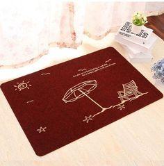 Floor MATS Brand Kitchen Carpet Toilet Tapete Water Absorption Non-slip Rugs Porch Doormat Para Quarto Casa And Gift WXT768