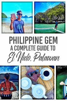 Philippine Gem: A Complete Guide to El Nido, Palawan Do a basic research before your trip and you will surely read nothing but good words for the paradise that is El Nido, Palawan. Boasting of its clear waters, superb snorkelling sites, pristine beaches and a laidback atmosphere, the photos you will get to see during your long distance exploration will definitely make you want to jump right in those awesome landscape shots.