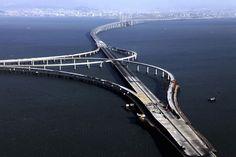 The Most Amazing Bridges in the World Qingdao Haiwan Bridge China