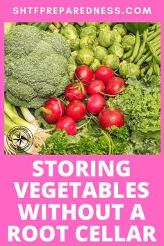 You have invested months into your vegetable garden and want to get the most out of it. If you don't have a root cellar what are the best ways to store that produce?