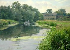 Peter Barker's Palette: Longboat Summer