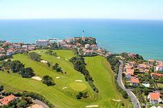 Golf de Biarritz, France. Vidéo aérienne sur FlyOverGreen / Aerial video on FlyOverGreen