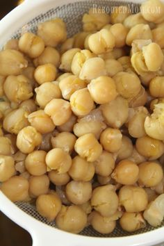 Chickpeas (Garbanzo Beans) are incredibly easy to make in the Instant Pot; they cook in a fraction of the time!