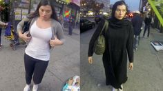 10 Hours of Walking in NYC as a Woman in Hijab. It can be super scary when receiving unsolicited attention from men. We just want to get through our day and obviously these men don't have any respect. Even when she tries to brush them off they don't stop. One guy even follows her for 5 minutes!! Creepy. Respect me and I'll respect you.