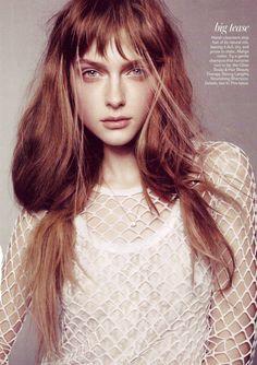 Mesh top Teen Vogue June/July 2013