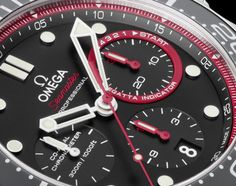 OMEGA Seamaster Diver ETNZ Watch for New Zealand Emirates sailing team