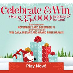 Celebrate and Win with Sears- Over $35,000 in Prizes Prize Draw, Valentines, Play, Celebrities, Win Prizes, Fun, Saving Money, Giveaway, Holidays